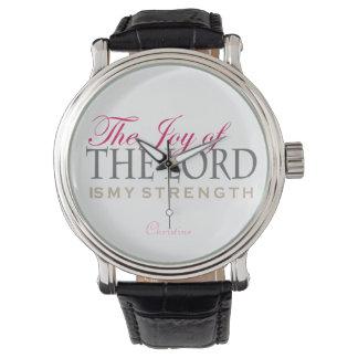 La alegría del señor, regalos adaptables reloj de mano