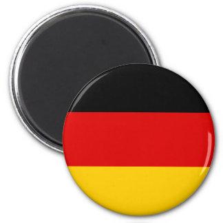 La Alemania Oriental con el emblema cortado, bande Imán Redondo 5 Cm