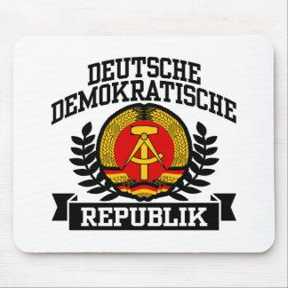 La Alemania Oriental Mouse Pad