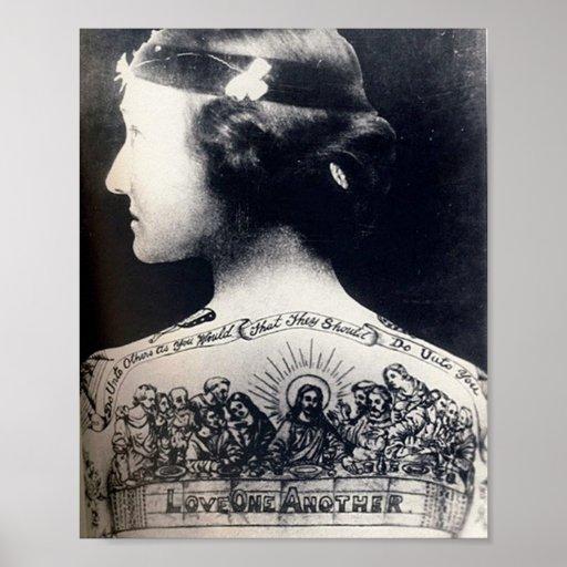 La aleta tatuada - amor uno otro impresiones