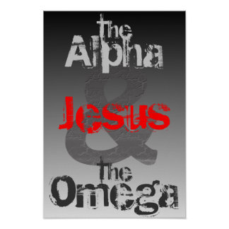 La alfa y el poster de Omega Póster