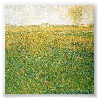 La alfalfa coloca al santo Denis de Jorte Seurat Fotografía