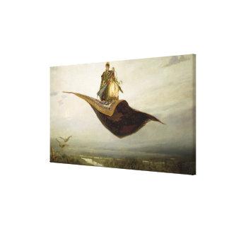 La alfombra mágica, 1880 impresión en lienzo