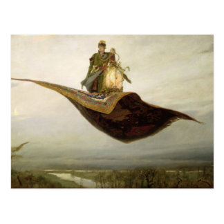 La alfombra mágica, 1880 postales