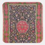 La alfombra que sala, c.1588-98 calcomania cuadradas