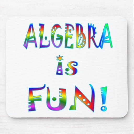 La álgebra es diversión alfombrilla de ratones