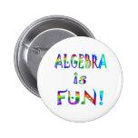 La álgebra es diversión pins