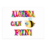 La álgebra es diversión postal