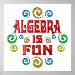 La álgebra es DIVERSIÓN Posters