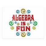 La álgebra es DIVERSIÓN Tarjetas Postales