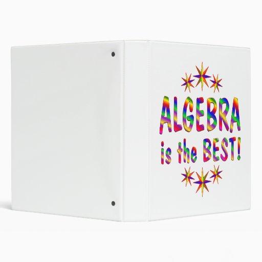 """La álgebra es el mejor carpeta 1"""""""