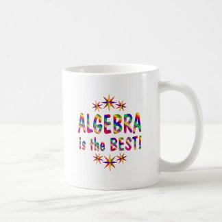 La álgebra es el mejor tazas de café