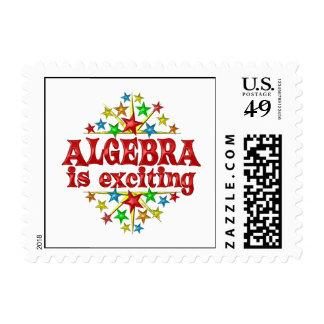 La álgebra es emocionante sello