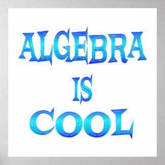 La álgebra es fresca - comenzando en 11 80 poster