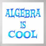 La álgebra es fresca - comenzando en $11,80 poster