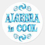 La álgebra es fresca etiquetas
