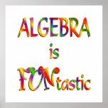 La álgebra es Funtastic Impresiones