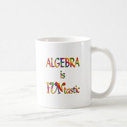 La álgebra es Funtastic Tazas De Café