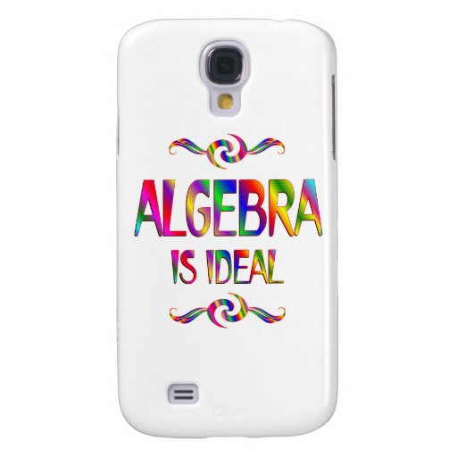 La álgebra es ideal funda para galaxy s4