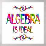 La álgebra es ideal impresiones