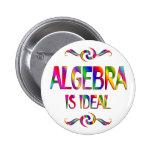 La álgebra es ideal pins