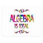 La álgebra es ideal postal