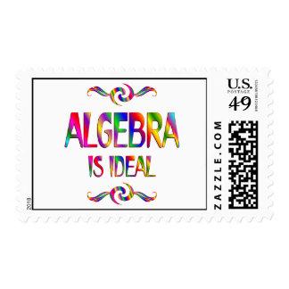 La álgebra es ideal franqueo