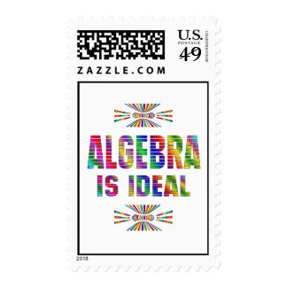 La álgebra es ideal sello