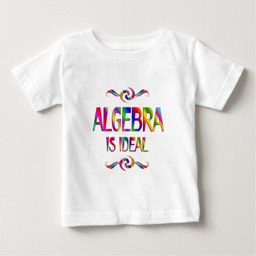 La álgebra es ideal t-shirt