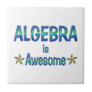 La álgebra es impresionante azulejos