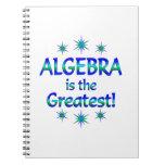 La álgebra es la más grande libros de apuntes
