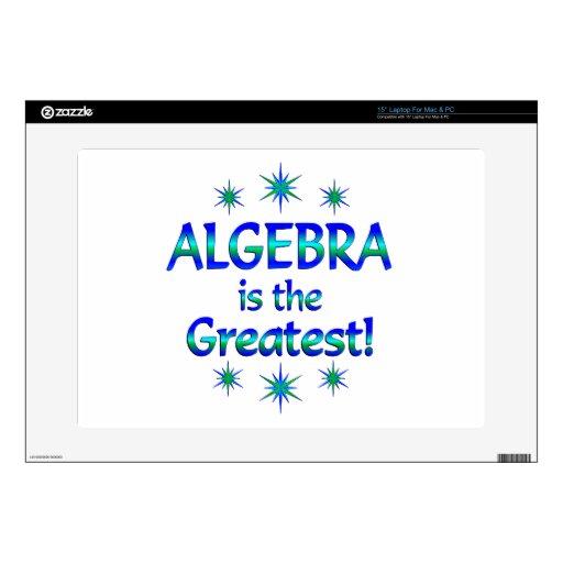La álgebra es la más grande portátil 38,1cm skins