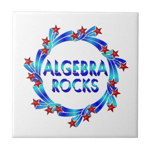 La álgebra oscila la diversión azulejo cuadrado pequeño