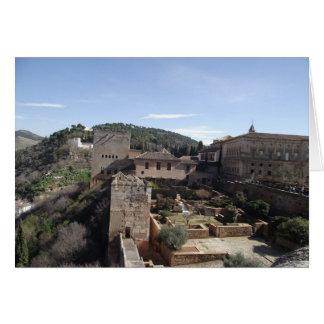 La Alhambra, Granada, Spain Card