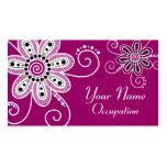 La alheña inspiró las flores espirales (el fondo tarjeta de visita