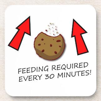 La alimentación de la galleta requirió el práctico posavaso