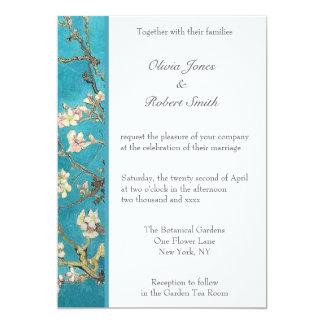 La almendra florece invitación del boda
