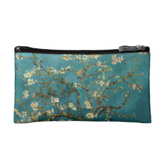 La almendra florece pequeño bolso cosmético