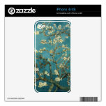 La almendra florece piel del iPhone 4/4S Skins Para iPhone 4S