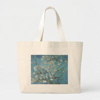 La almendra ramifica en la floración, 1890, bolsa tela grande