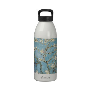 La almendra ramifica en la floración 1890 Vincen Botella De Agua Reutilizable