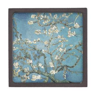 La almendra ramifica en la floración, 1890, Vincen Cajas De Regalo De Calidad