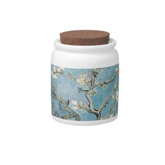 La almendra ramifica en la floración 1890 Vincen Plato Para Caramelo