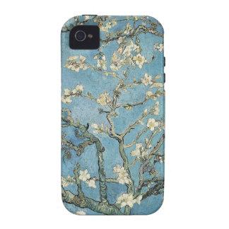 La almendra ramifica en la floración, 1890, Vincen Case-Mate iPhone 4 Carcasas