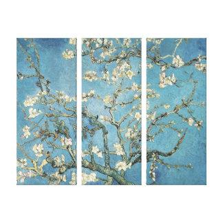 La almendra ramifica en la floración, 1890, Vincen Impresiones De Lienzo