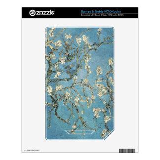 La almendra ramifica en la floración, 1890, Vincen Calcomanías Para El NOOK Color