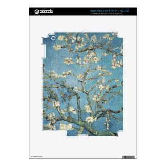 La almendra ramifica en la floración, 1890, Vincen iPad 3 Pegatinas Skins
