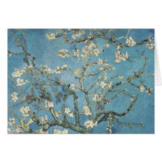 La almendra ramifica en la floración 1890 Vincen Tarjeton