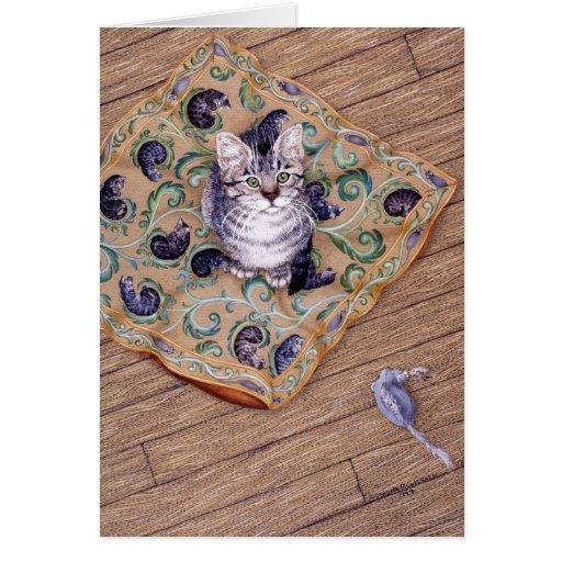 La almohada de Elliott, por Darlene P. Coltrain Tarjeta De Felicitación