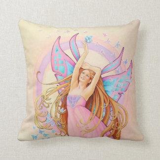 La almohada de la hada de la mariposa